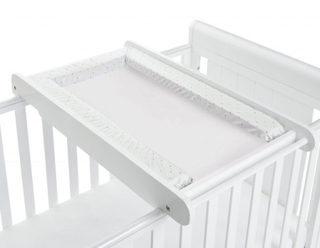 Babymore Cot Top Changer - White