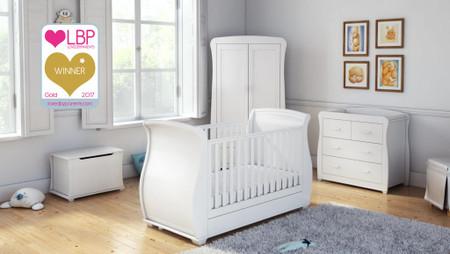 Babymore Bel Room Set 4 Piece - White