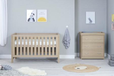 Babymore Luno Room Set 2 Piece - Oak