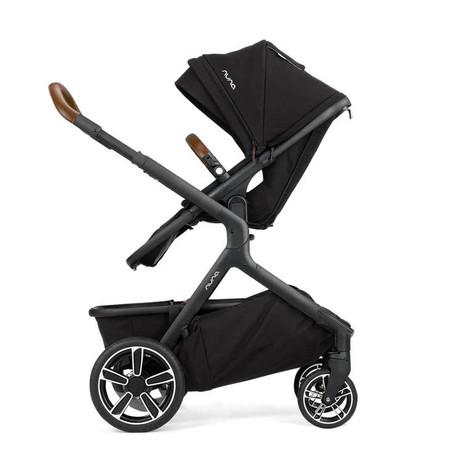 Nuna DEMI GROW Stroller - w/Footmuff - Caviar