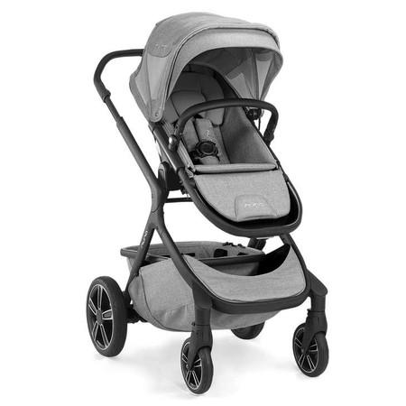 Nuna DEMI GROW Stroller - w/Footmuff - Frost