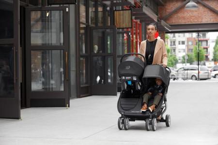 Baby Jogger city mini® 2 double Stroller  - Stone Grey