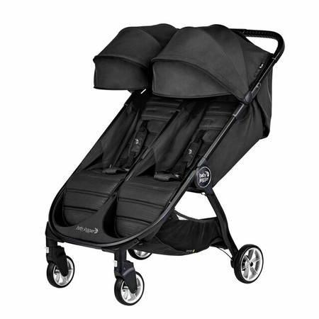 Baby Jogger City Tour 2 Double Stroller - Pitch Black