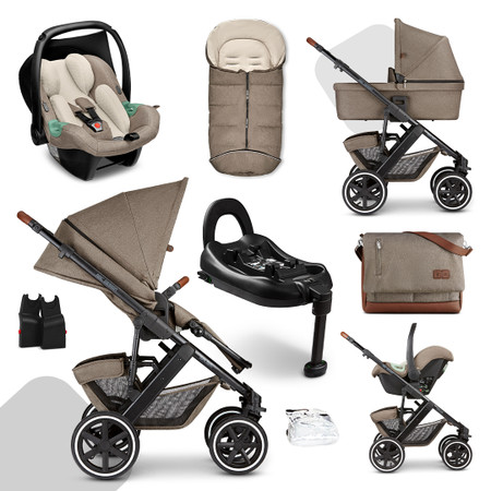 ABC Design Salsa 4 Fashion Edition Isofix Travel System Bundle - Nature