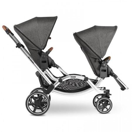 ABC Design Zoom Diamond Edition Tandem Pushchair - Asphalt