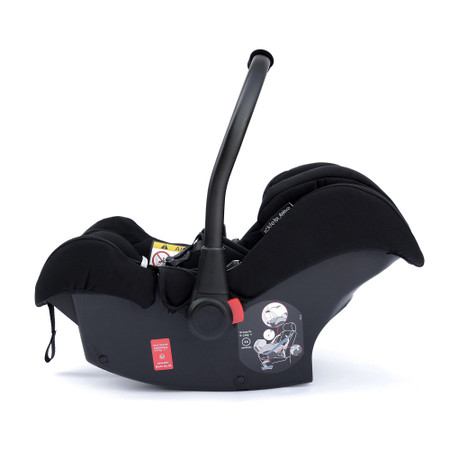Ickle Bubba Galaxy Group 0+ Car Seat With Isofix Base - Black