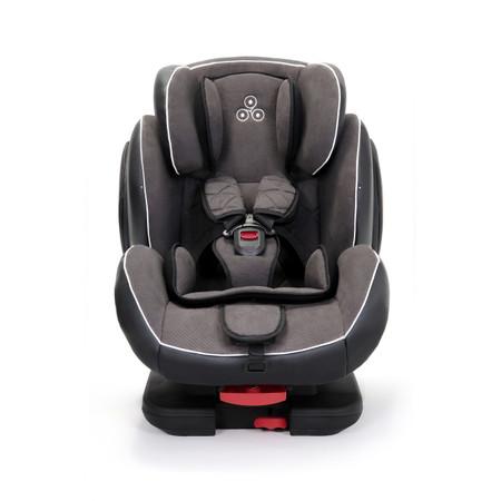 Ickle Bubba Solar Car Seat & Isofix Base - Dark Grey