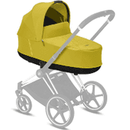 Cybex PRIAM Lux Carry Cot Mustard Yellow