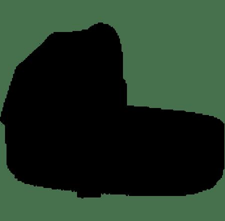 Cybex PRIAM Lux Carry Cot Plus Stardust Black Plus