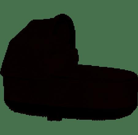 Cybex PRIAM Lux Carry Cot Plus Manhattan Grey Plus