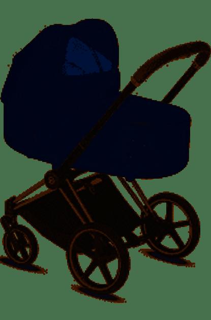 Cybex PRIAM Lux Carry Cot Plus Midnight Blue Plus