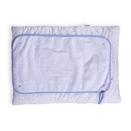 Clair de Lune Stars & Stripes Roly Poly Travel And Change Mat®  - Blue