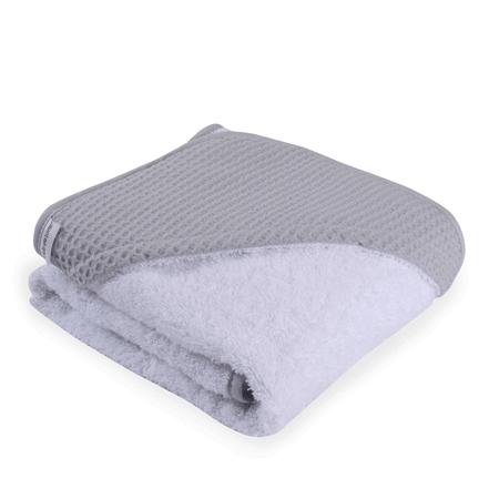 Clair de Lune Waffle Hooded Towel (0% VAT) - Grey
