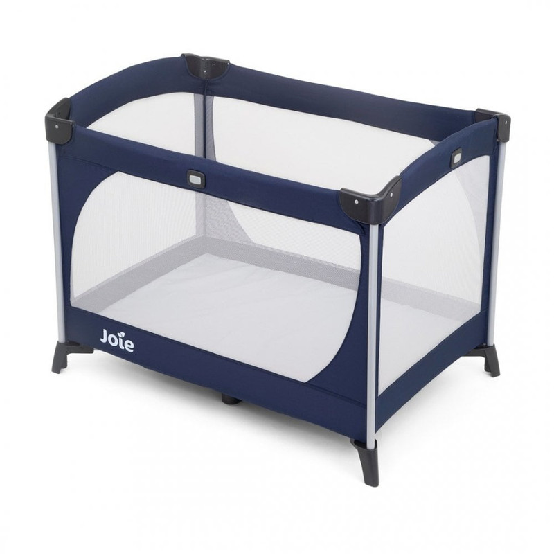 Joie Allura Travel Cot with Bassinet - navy