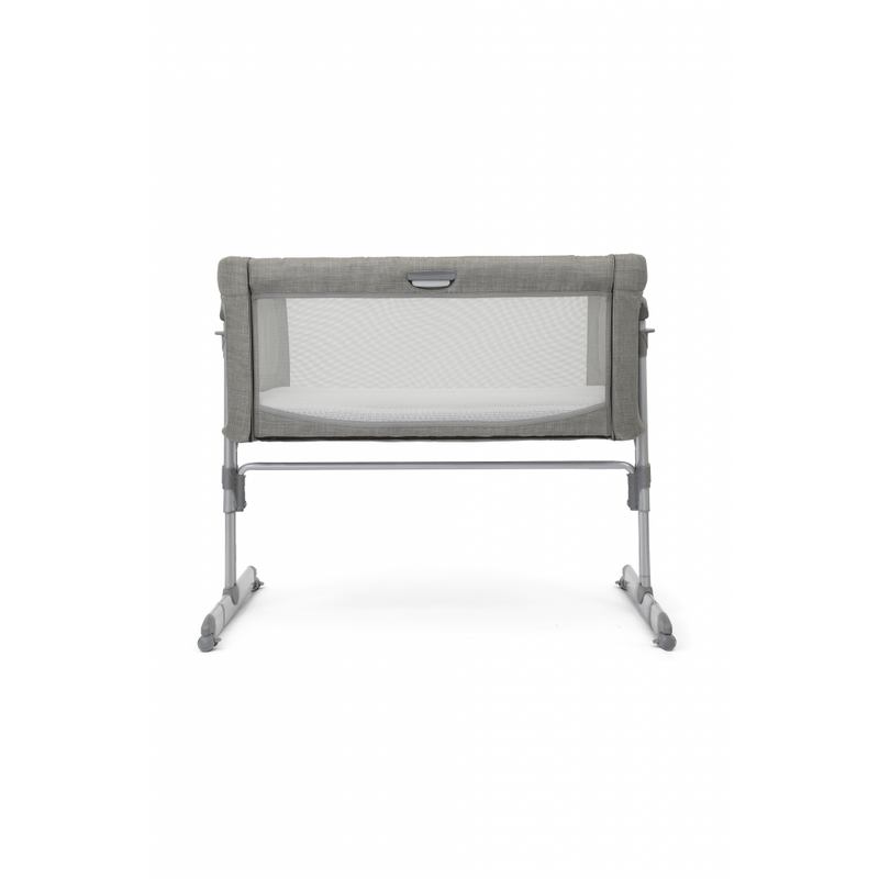 Joie Roomie Glide Side Sleeping Crib – Foggy Grey