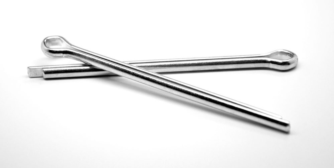 """1//16/"""" x 1 1//2/"""" Cotter Pin Low Carbon Steel Zinc Plated"""