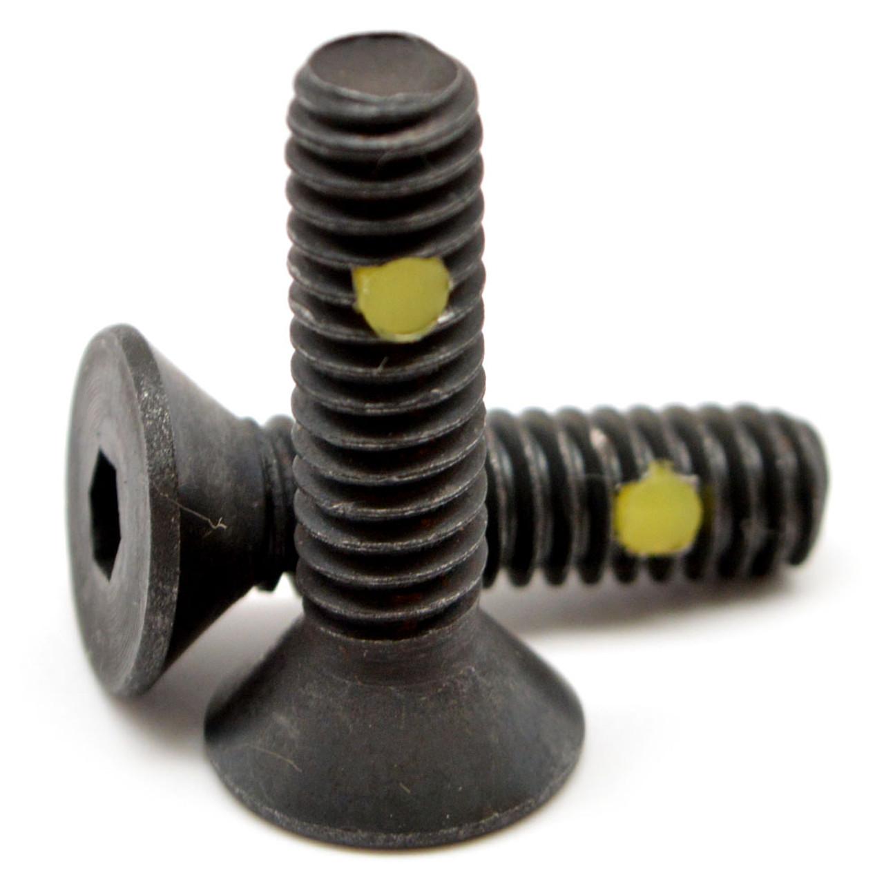 "3//8/""-16 x 1/"" Coarse Thread Socket Flat Hd Cap Screw Black Oxide FT"