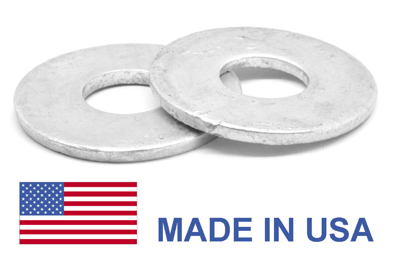 250 7//16 FLAT WASHERS HOT DIPPED GALVANIZED 250 PIECES