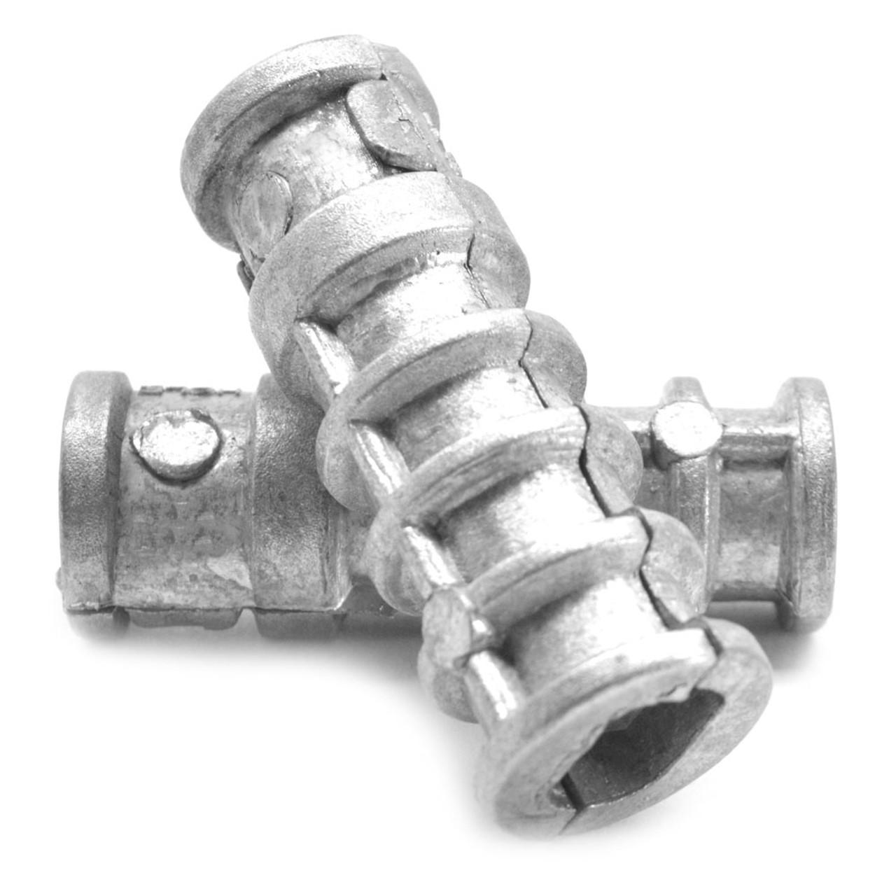 Concrete Sleeve Anchors Zinc Alloy Qty 25 5//8 X 6