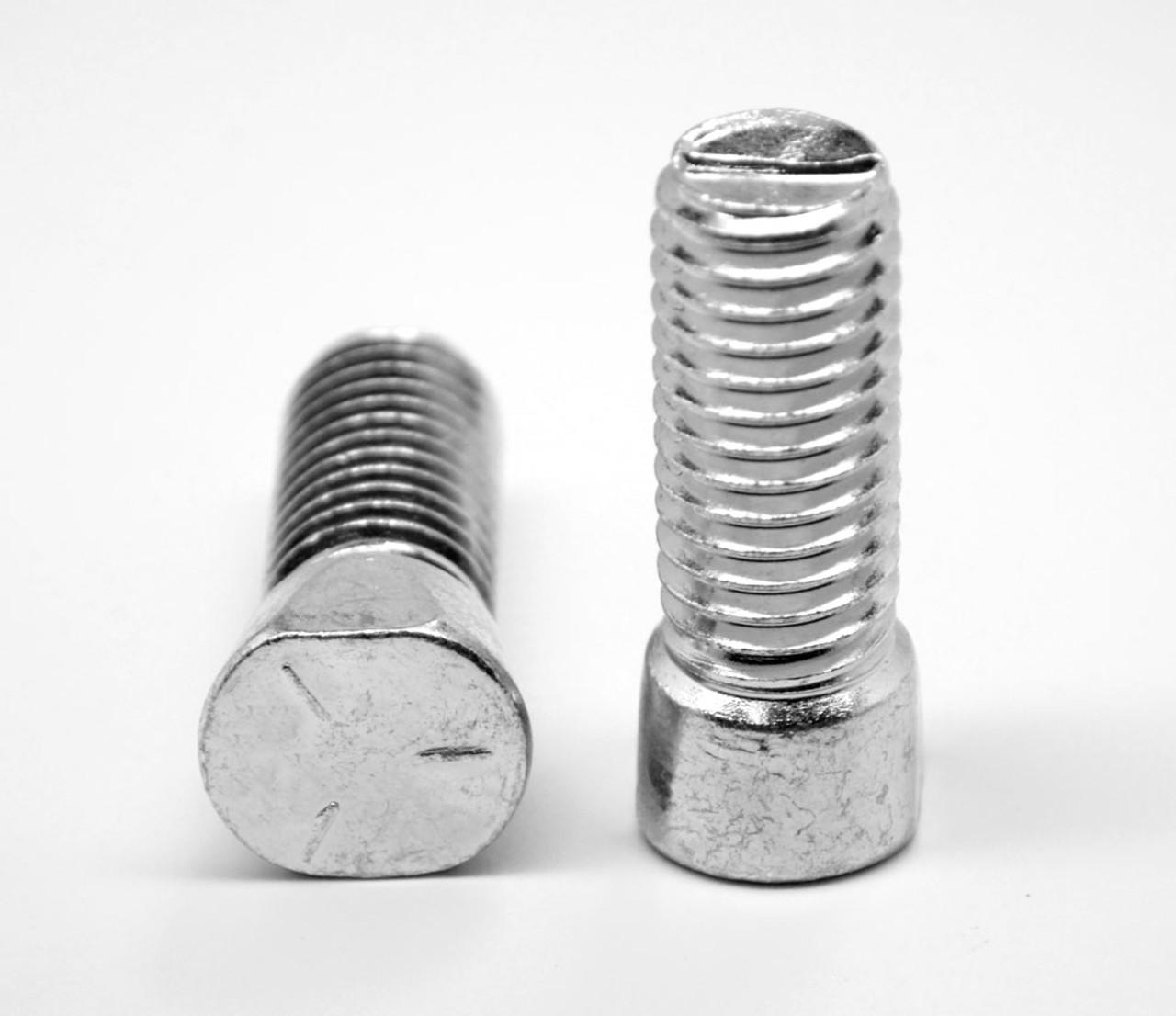 1//2-13X2 Grade 5 Plow Bolt with Number 3 Head Zinc