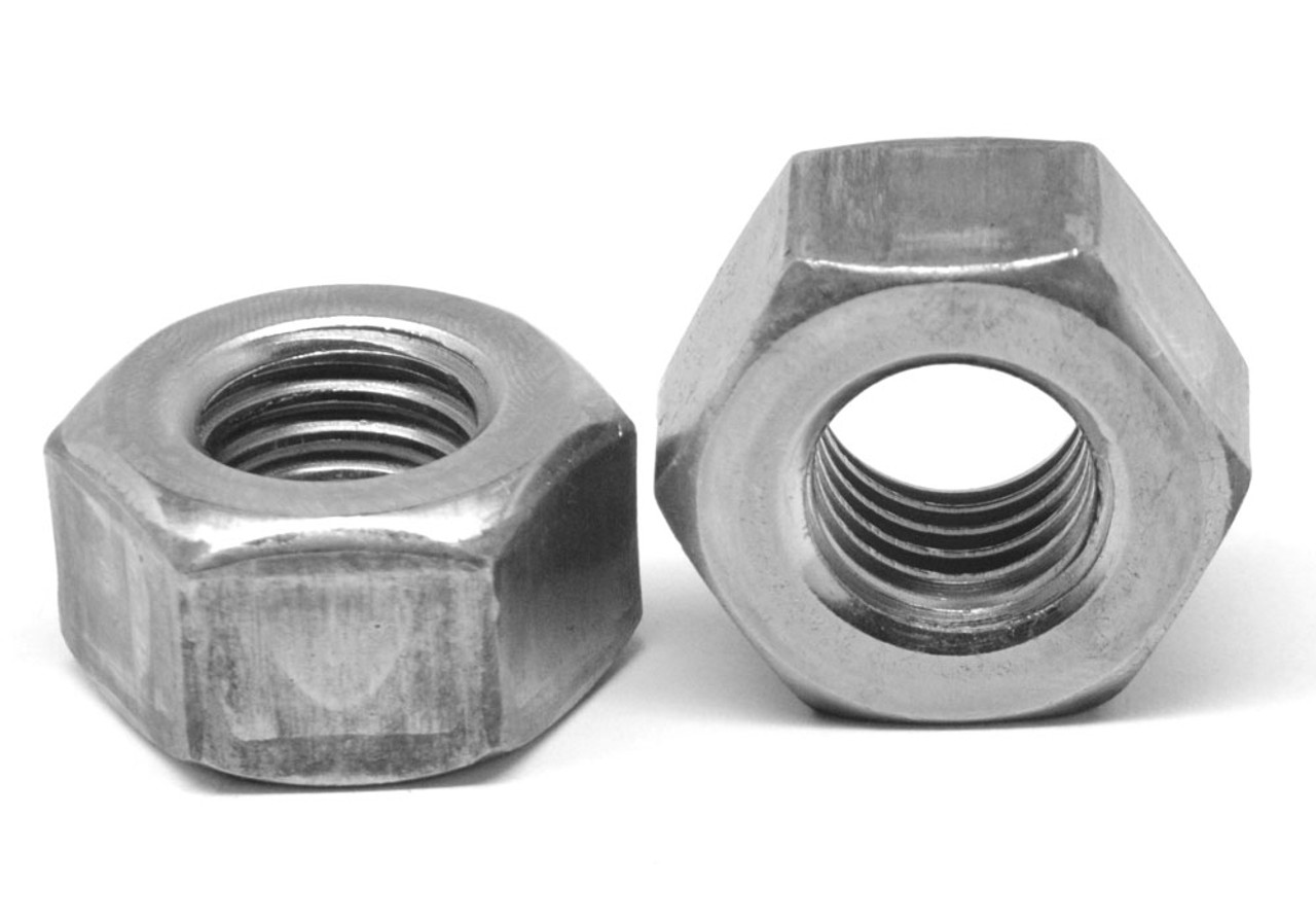 "3//4/""-10 Coarse Thread A563 Grade A Heavy Hex Nut Plain Finish"