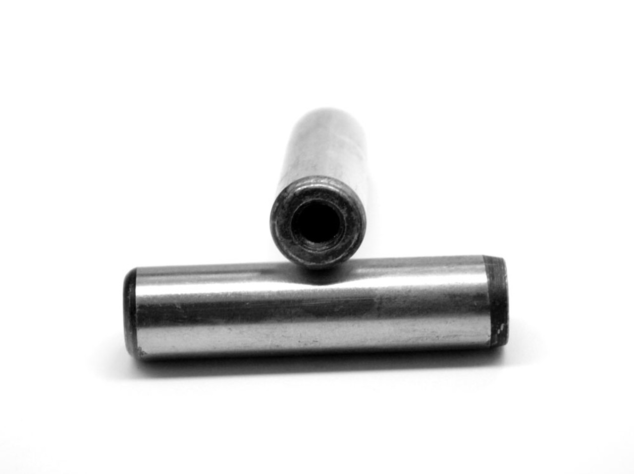 """1"""" x 2 1/2"""" Pull-Out Dowel Pin Hardened And Ground Alloy Steel Bright Finish"""