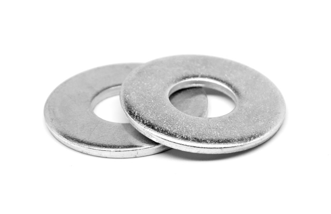 """7//8/"""" Flat Washer SAE Pattern Low Carbon Steel Zinc Plated"""