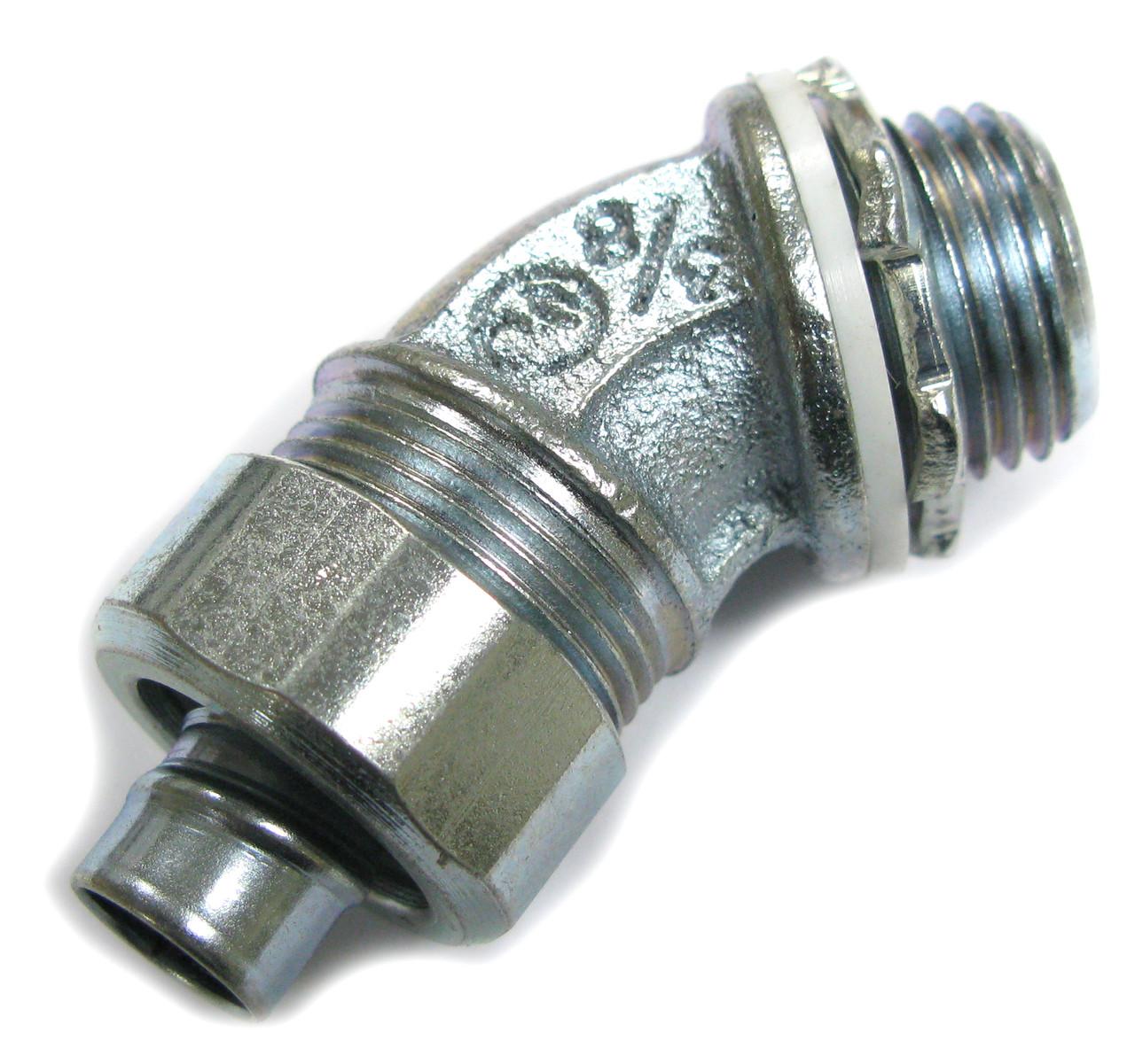 Amfi 45 Degree Elbow Sealtite Liquidtight Fitting, 3/8 Inch USA