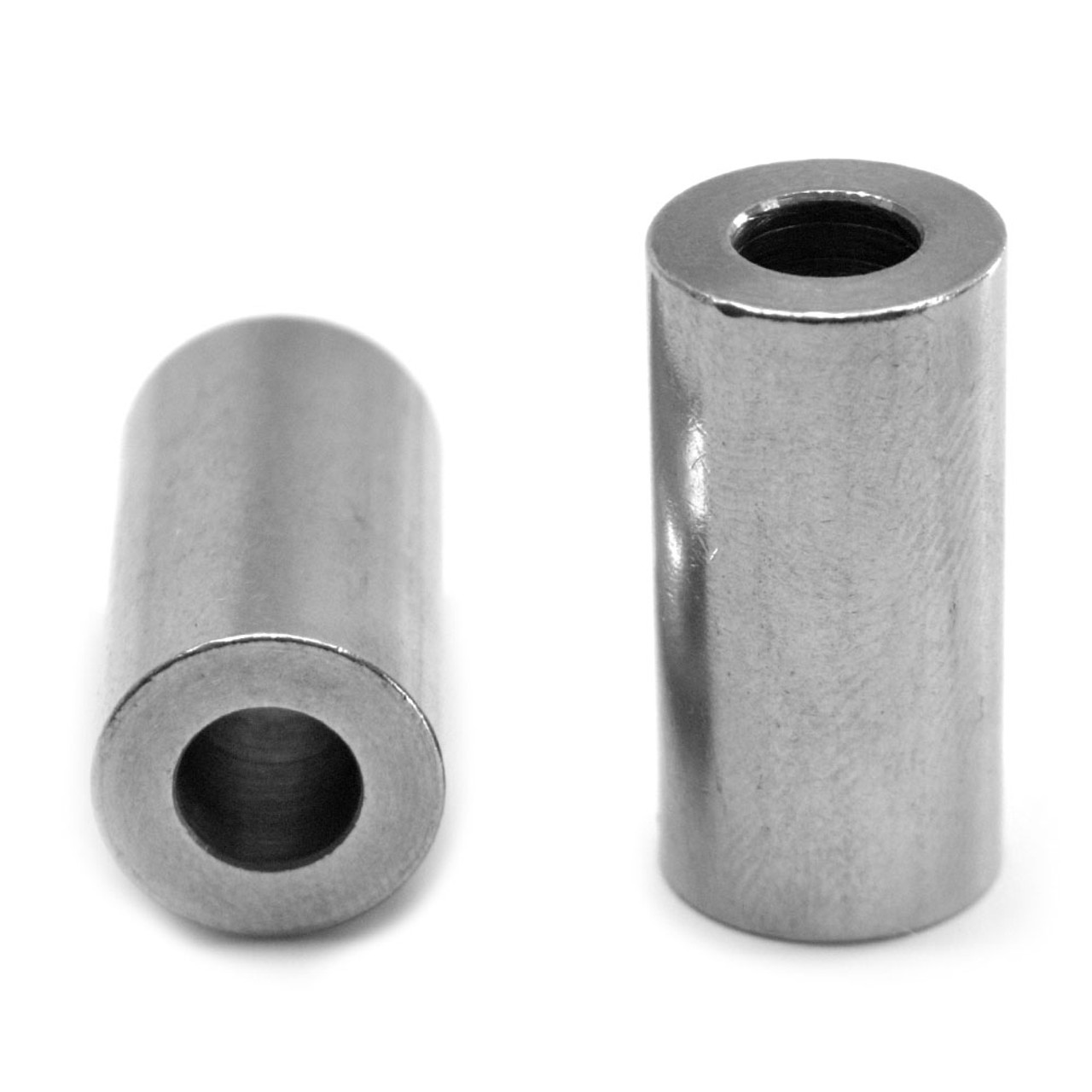 """#10 x 1/4 (1/2"""") Round Spacer Stainless Steel 18-8"""