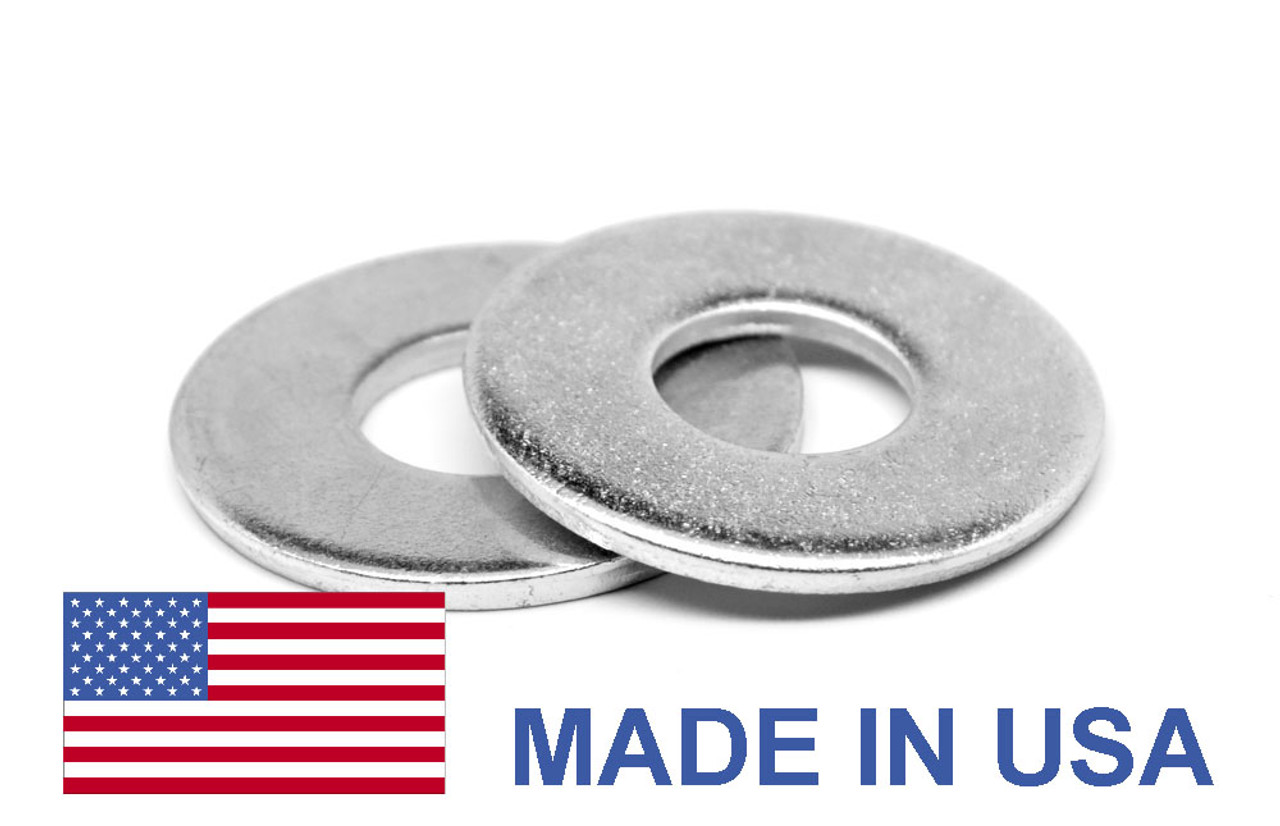 #0 Flat Washer Type B Narrow Pattern - USA Stainless Steel 18-8