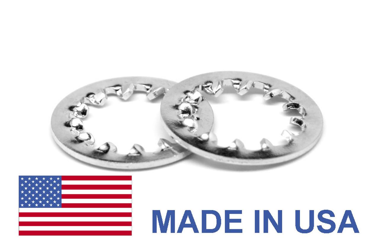 #10 MS35333 Internal Tooth Lockwasher - USA Stainless Steel 410