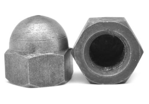 1-8 Coarse Thread Low Crown Acorn Nut Low Carbon Steel Plain Finish