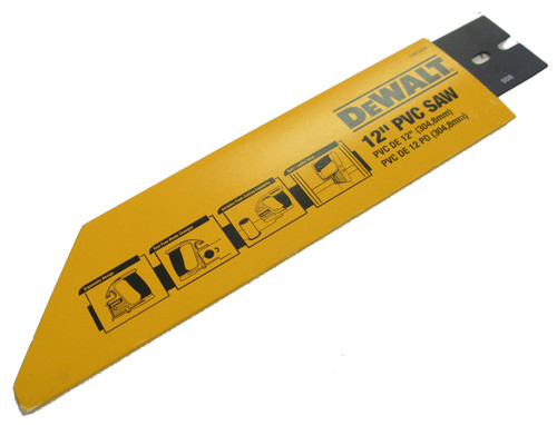 DeWalt PVC/ABS Saw Blade, 12 Inch Long NOS
