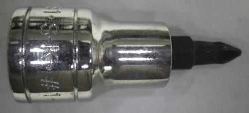 SK 45481 Bit Socket, Phillips, 3/8 Inch Drive, #1, NOS USA