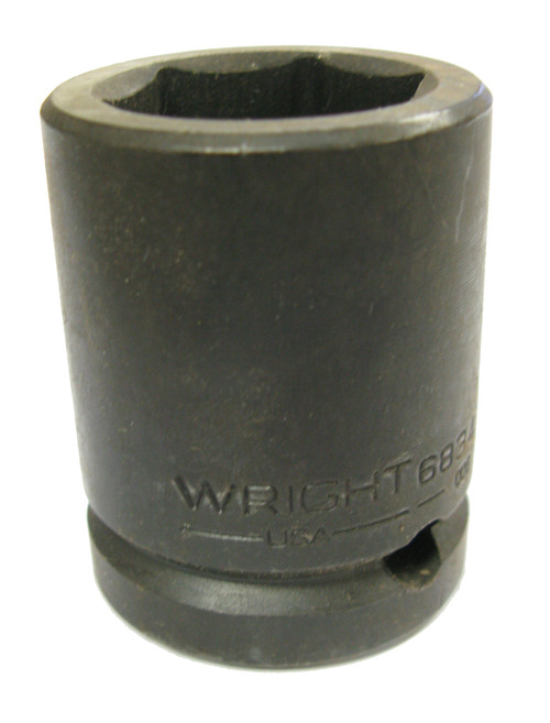 Wright 6832 Impact Socket, Shallow, 6pt, 3/4 Inch Drive, 1 Inch NOS USA