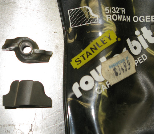 Stanley Router Bit 05-709 45 Degree Chamfer, Carbide, NOS USA