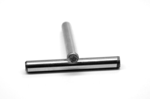 "1/16"" x 3/16"" Dowel Pin Hardened And Ground Alloy Steel Bright Finish"