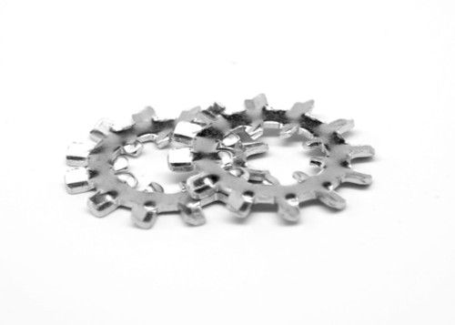 #10 x .610/.580 Internal / External Tooth Lockwasher Low Carbon Steel Zinc Plated
