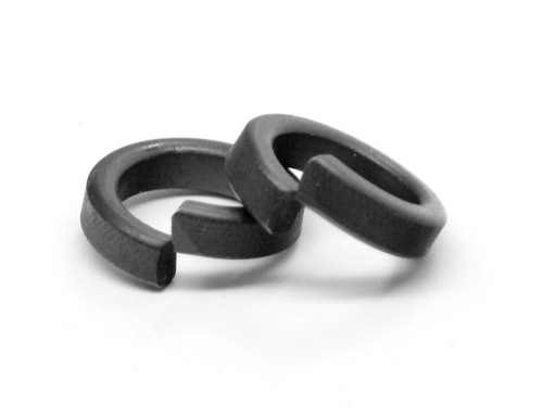 #10 Hi-Collar Split Lockwasher Alloy Steel Black Oxide