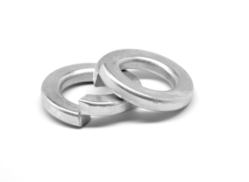 #10 Regular Split Lockwasher Medium Carbon Steel Zinc Plated