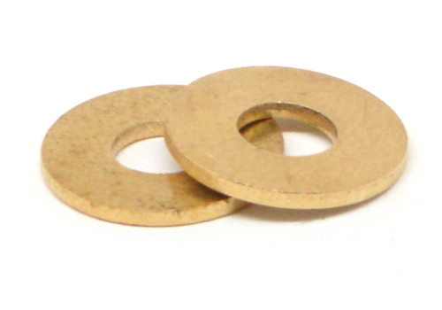 #10 Flat Washer Small Pattern Brass