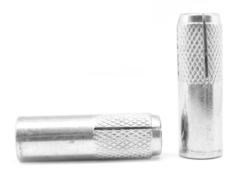 """1/4"""" Drop-In Anchor Low Carbon Steel Zinc Plated"""