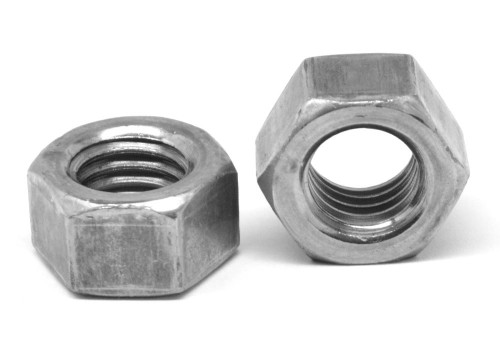"1/2""-20 Fine Thread Grade 5 Finished Hex Nut Medium Carbon Steel Plain Finish"