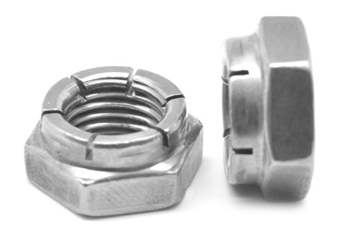1 1/2-12 Fine Thread Flexloc Nut Large Diameter Thin Medium Carbon Steel Plain Finish 31FK-2412