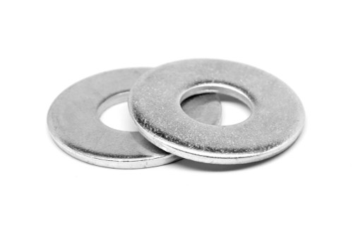 #10 Flat Washer USS Pattern Low Carbon Steel Zinc Plated