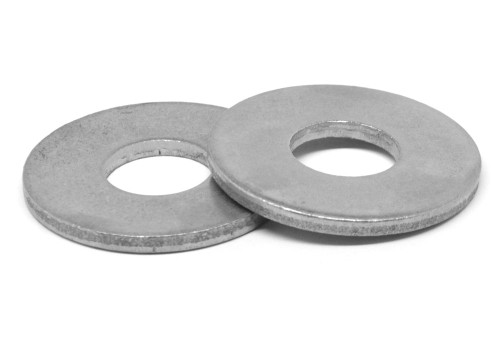 #10 Flat Washer SAE Pattern Low Carbon Steel Plain Finish