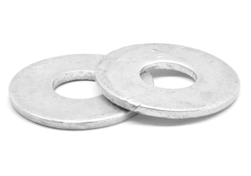 #10 Flat Washer SAE Pattern Low Carbon Steel Hot Dip Galvanized