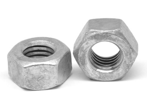 "1 7/8""-5 Coarse Thread A194 Grade 2H Heavy Hex Nut Medium Carbon Steel Hot Dip Galvanized"