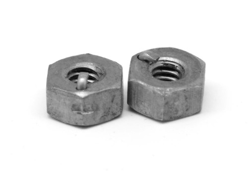 1/4-20 Coarse Thread Heavy Anco Locknut Low Carbon Steel Plain Finish