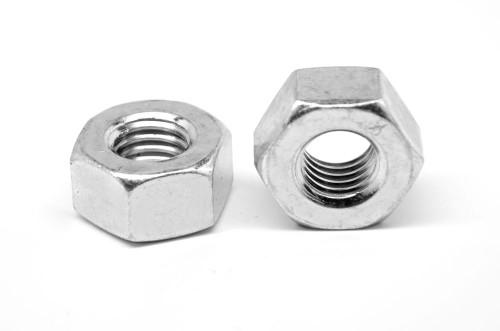 9/16-12 Coarse Thread Grade 2H Heavy Hex Nut Medium Carbon Steel Zinc Plated